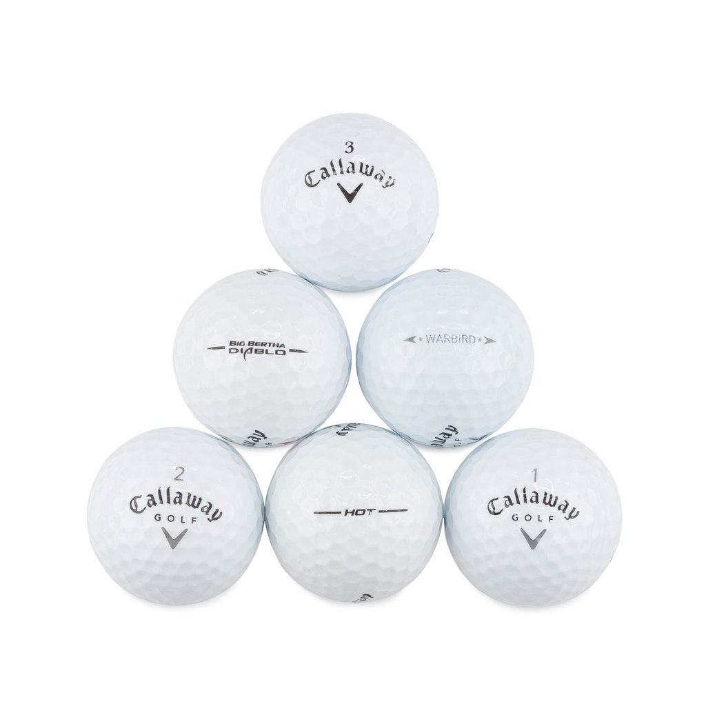 Image of 50 CALLAWAY MIX NEAR MINT AAAA USED GOLF BALLS