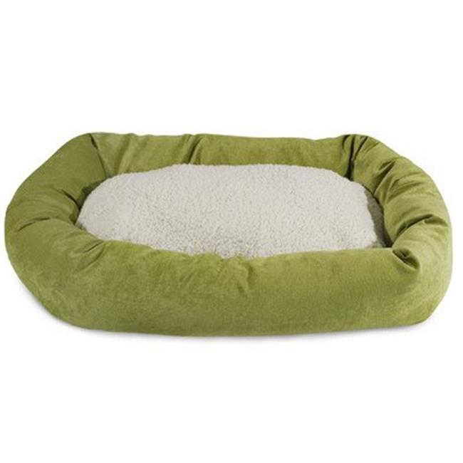 MajesticPet 788995540533 25 in. Villa Sherpa Donut Pet Bed, Vintage - image 1 of 1
