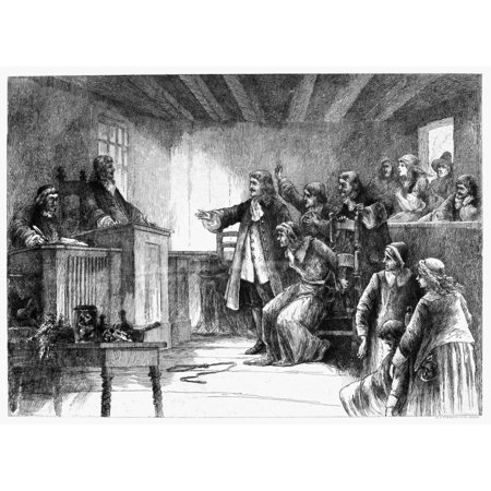 salem witch trials 1692 nthe trial of a witch at the first church of