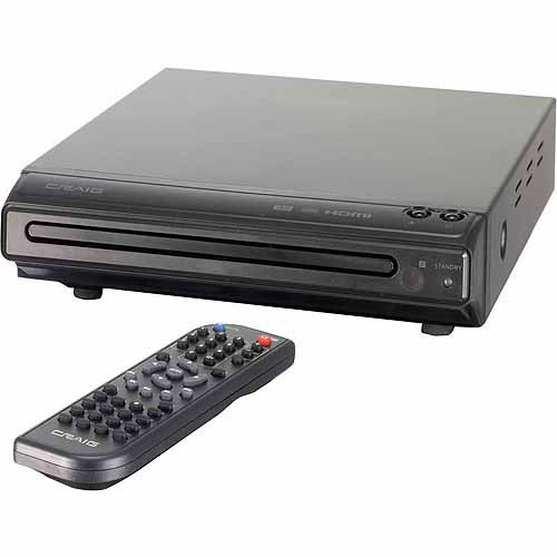 Craig CVD401A HDMI DVD Player