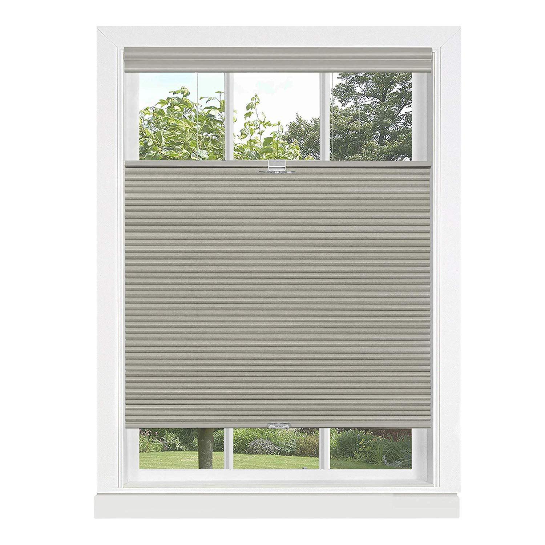 Cordless Window Shades Topdown Honeycomb Pleated Cellular Shades Blinds Walmart Com Walmart Com