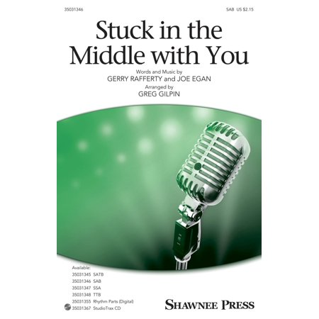 Shawnee Press Stuck in the Middle with You SAB arranged by Greg Gilpin (Badehosen 2 Stück)