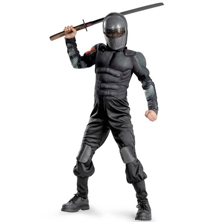 Snake Eyes Muscle Child Halloween Costume, L (10-12)](Eye Missing Halloween)