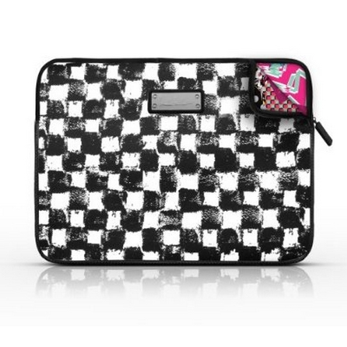 Refurbished Nicole Miller Laptop Sleeve - Checkerboard (LS009-CH)