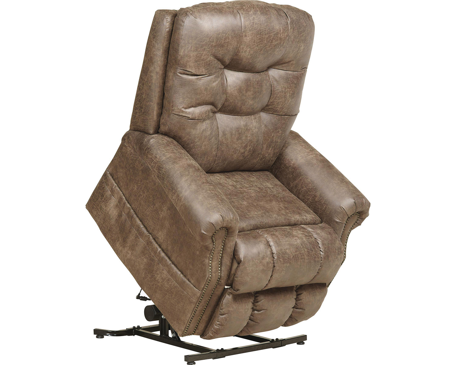 Catnapper Ramsey 4857 Power Full Lay Flat Lift Chair Recliner With Heat And  Massage   Easy