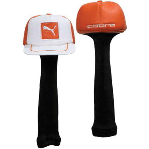 Puma Cat Patch Hat Headcover - Orange,