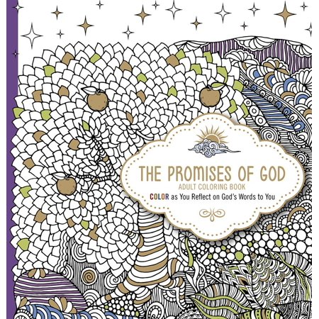 The Promises of God Adult Coloring Book (Other)