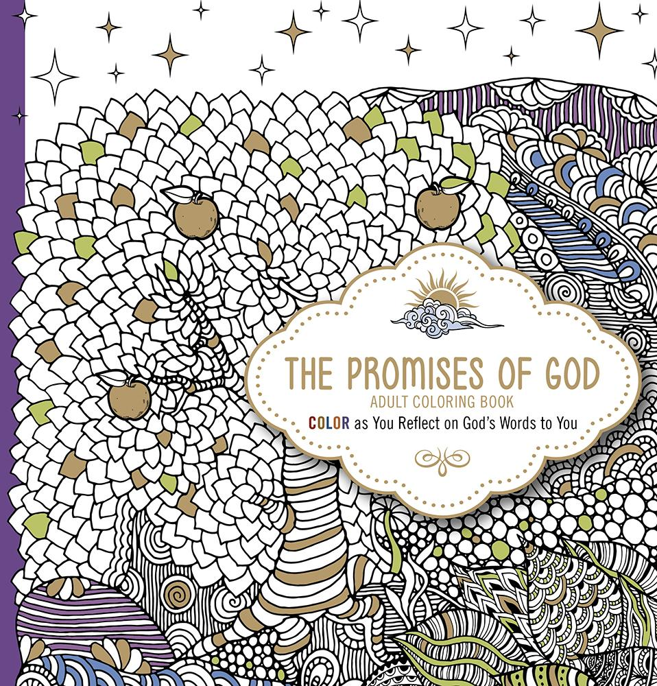 The Promises of God Adult Coloring Book (Paperback)