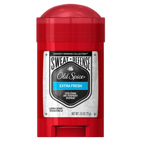 Old Spice Hardest Working Collection Sweat Defense Anti-Perspirant & Deodorant Extra Fresh 2.6