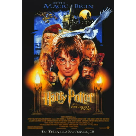 Harry Potter and the Sorcerers Stone Movie Poster Print (27 x 40)