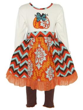 20f98c41a6f1 Brown Big Girls Outfit Sets - Walmart.com