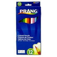 Dixon Ticonderoga DIX22120-6 Prang Colored Pencil Sets 12 Color Set - Box of 6