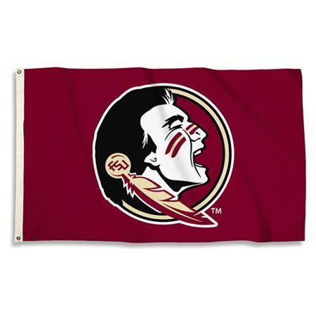 Florida State Seminoles 3 Ft. X 5 Ft. Flag W/Grommets  - Collegiate Licensed #95804 ()