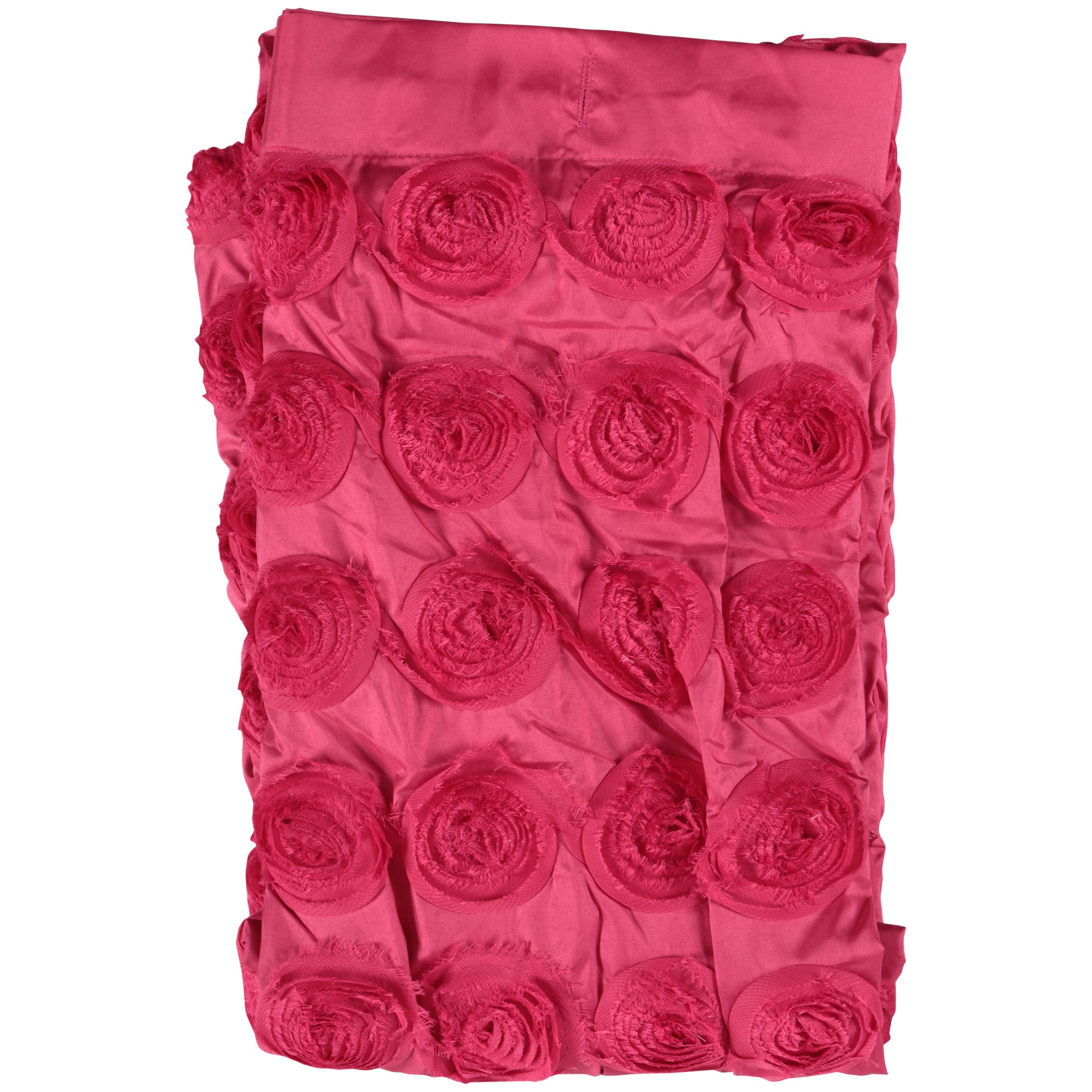 Lush Decor® Emma Pink Shower Curtain