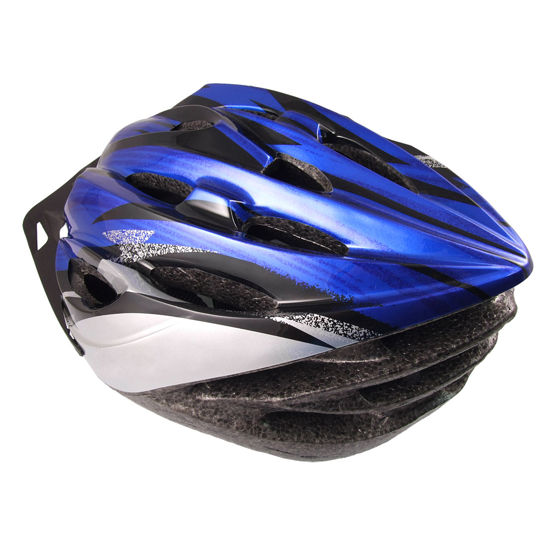 Women Men Skateboard Skiing Racing Bicycle Bike Sports Helmet Blue by
