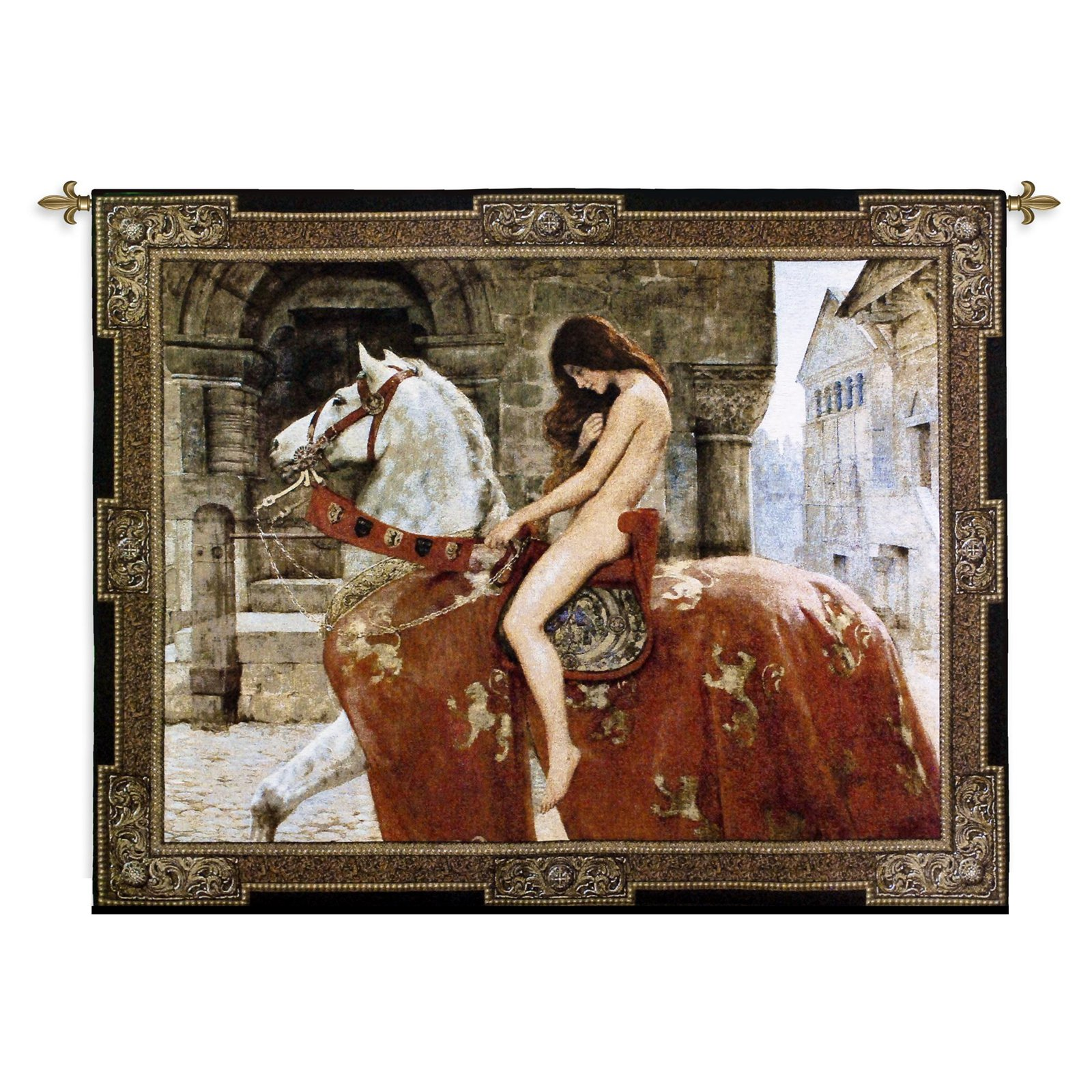 Fine Art Tapestries Lady Godiva Wall Tapestry by Supplier Generic