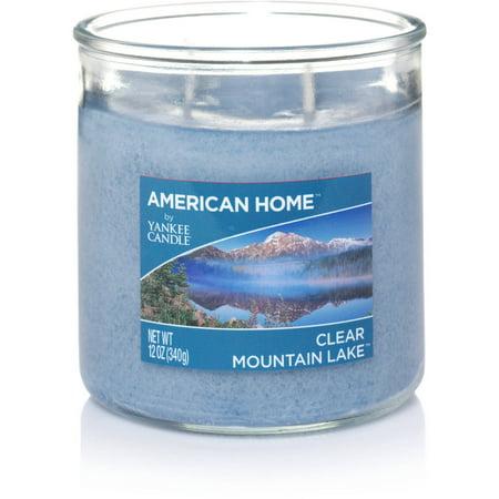 American Home by Yankee Candle Clear Mountain Lake, 12 oz Medium 2-Wick Tumbler