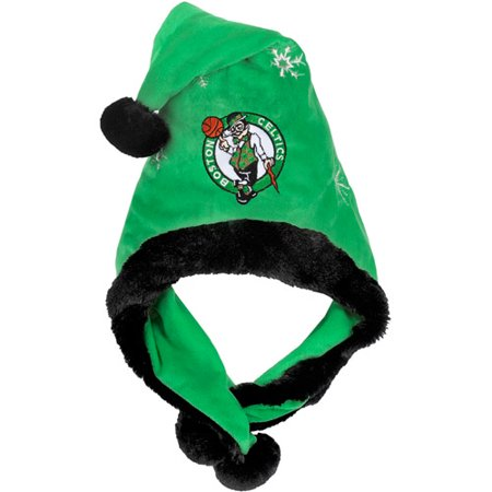 NBA Thematic Headwear Santa Hat, Boston Celtics - Christmas Head Wear