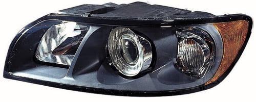 Volvo OEM Left Halogen Headlight Assembly 31335215 for S40 V50 2005-2007