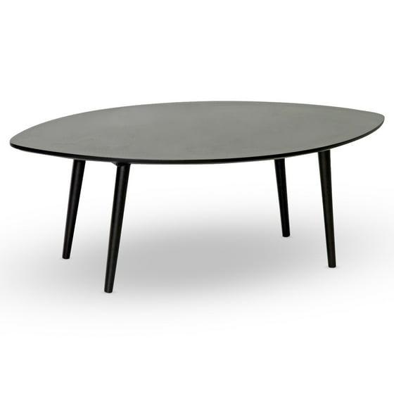 Griffith Dark Brown Mid-Century Modern Coffee Table