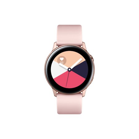 SAMSUNG Galaxy Watch Active - Bluetooth Smart Watch (40mm) Rose Gold - SM-R500NZDAXAR
