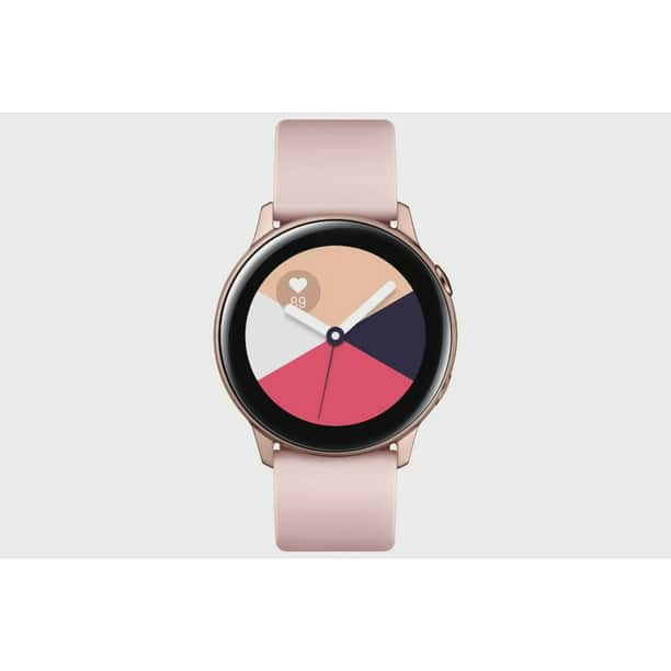SAMSUNG Galaxy Watch Active - Bluetooth Smart Watch (40mm) Rose Gold - SM-R500NZDAXAR