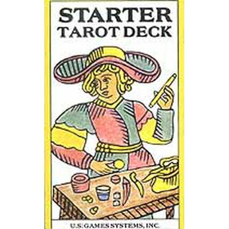 Party Games Accessories Halloween Séance Tarot Cards Starter Tarot Card Deck by Bennett, George