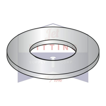 #6 NAS620 Light Flat Washer | 300 Series Stainless Steel | DFAR (Quantity: (10000 Series)