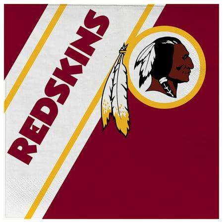 Washington Redskins Disposable Napkins - Redskins Party