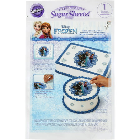 Disney Frozen Sugar Sheets](Sugar Sheets)