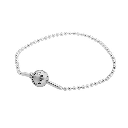 86615b00f PANDORA - Authentic Essence Silver Ball Chain Bracelet In 925 Sterling  Silver, 596002-18 - Walmart.com