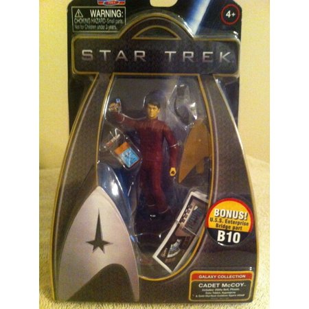 Star Trek 2009 Galaxy Collection 3 3 4 Cadet Mccoy With Bonus Uss Enterprise Bridge Part B10 By Playmates