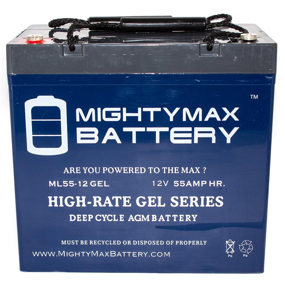 12V 55AH GEL Battery for John Deere 3520, 3720 Utility Tr...