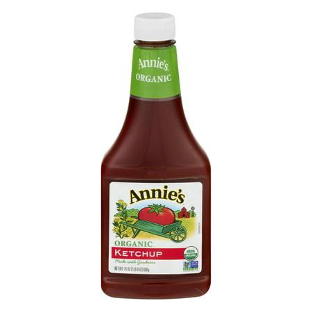 (2 Pack) Annie's Organic Gluten Free Ketchup, 24 oz Bottle Annies Naturals Organic Ketchup