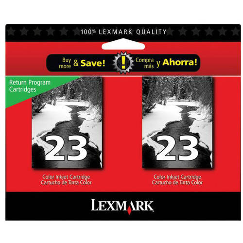 Lexmark 18C1523 (23) Ink, 215 Page-Yield, Black Print Cartridge