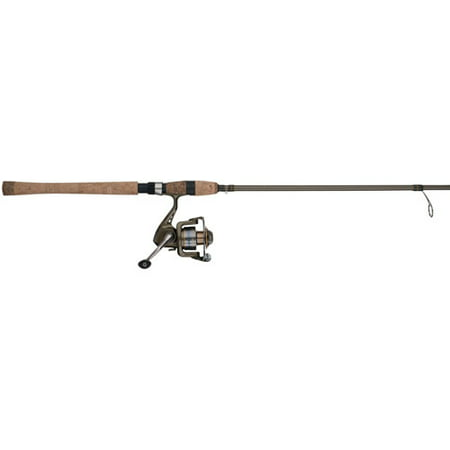 Shakespeare Wild Series Walleye Spinning Reel and Fishing Rod Combo
