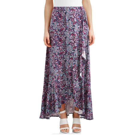 Women's Flounce Wrap Skirt - Make Wrap Around Skirt