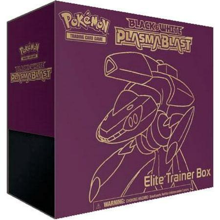 Pokemon Black & White Plasma Blast Elite Trainer Box (Pokemon Black And White 2 Team Plasma Theme)