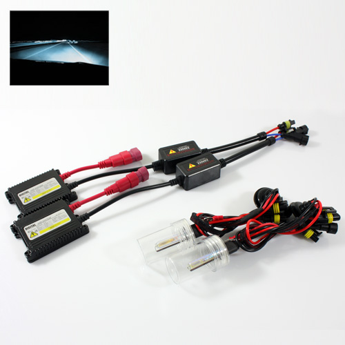 ModifyStreet® H3 35W Slim AC Ballast Xenon HID Conversion Kit - 8000K Plasma White