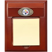 Pittsburgh Steelers Wooden Memo Pad Holder - No Size