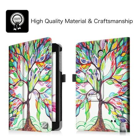Fintie Folio PU Housse en cuir pour LG G Pad F 8.0 Tablet AT & T V495 / T-Mobile V496 / US Cellular UK495, arbre de l'amour - image 3 de 7