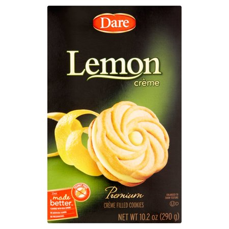 Dare Cookie Lemon Creme,10.2 Oz (Pack Of 12) ()
