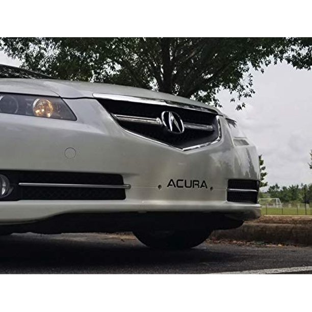 Bumper Letters Fits Acura TL 2004-2008 Front