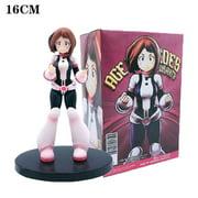 SeekFunning My Hero Academia Action Figure Uraraka Ochako Amazing Hero Anime Toys Collectible Model Gift