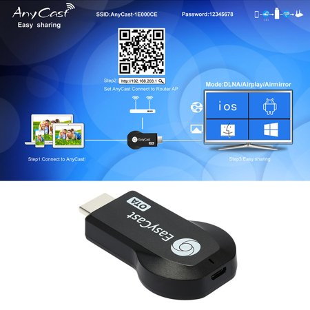 AnyCast TV Stick Full HD 1080P WiFi Wireless Display Receiver Miracast DLNA  Airplay for SmartPhones