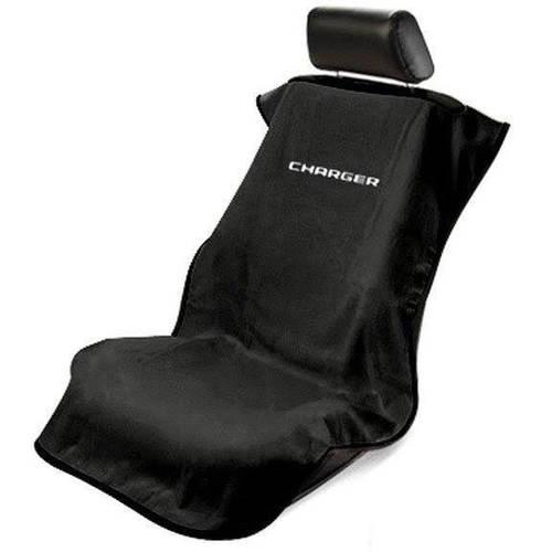 SeatArmour Charger Black Seat Armour