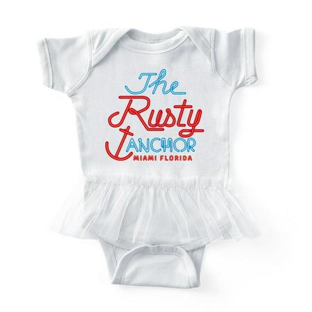 bb7cf5a05 CafePress - Golden Girls Rusty Anchor - Cute Infant Baby Tutu Bodysuit -  Walmart.com