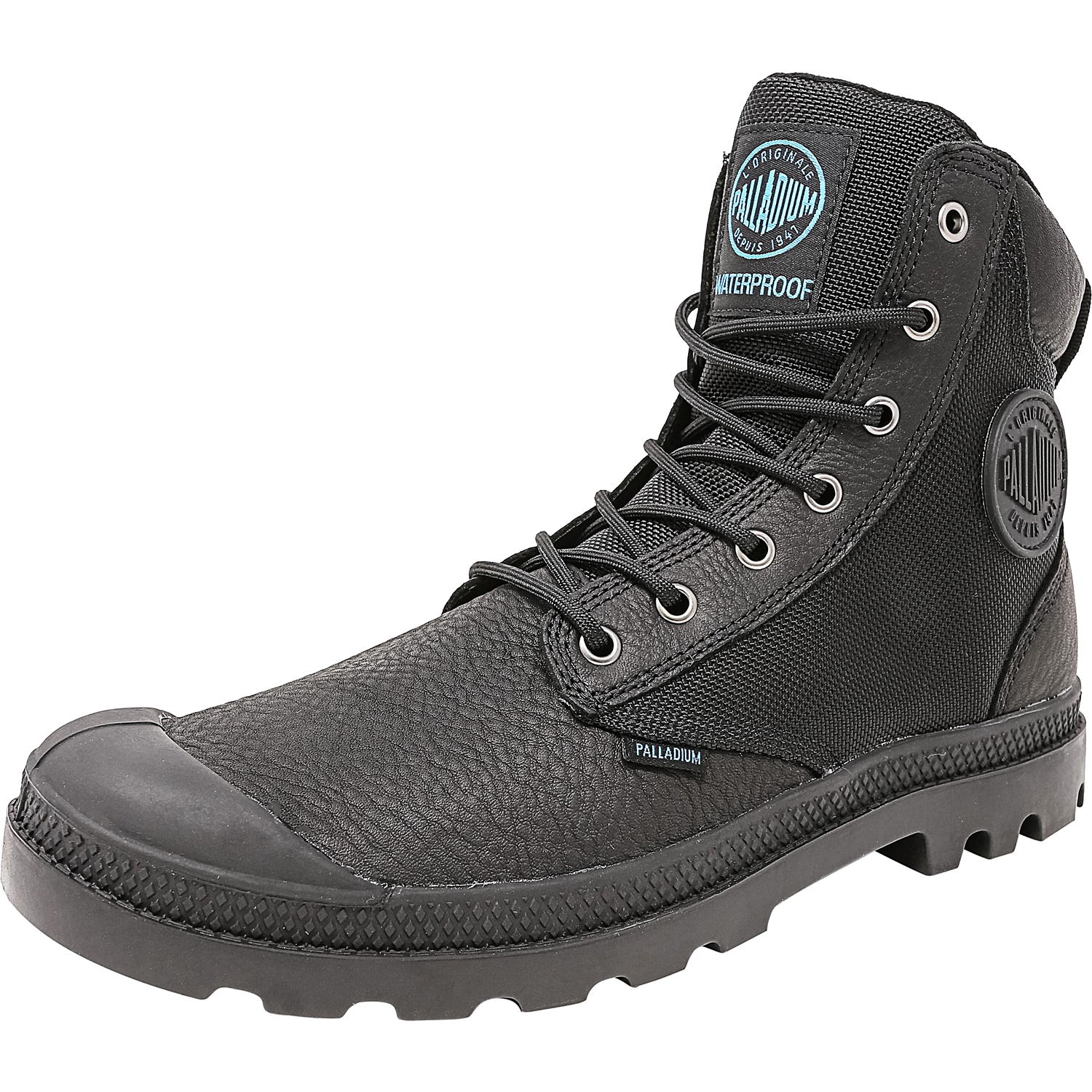 Palladium Men's Pampa Sport Cuff Wpn Black High-Top Canvas Boot - 10M