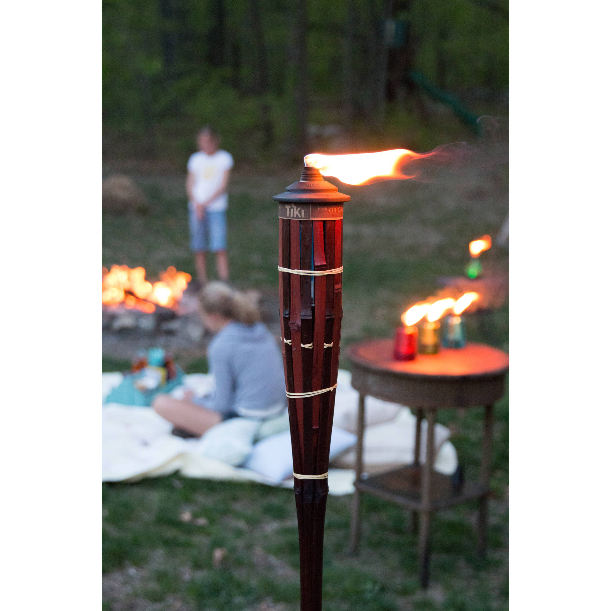 TIKI Brand Royal Polynesian Torch - Set of 4