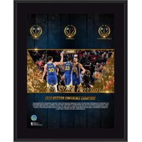 """Golden State Warriors 10.5"""" x 13"""" 2019 Western Conference Champions Sublimated Plaque"""